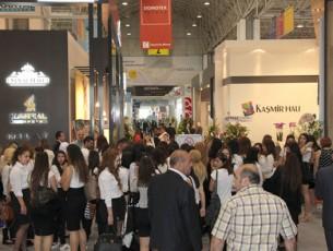 DOMOTEX Türkiye, halının merkezinde uluslararası bir buluşma noktası sundu