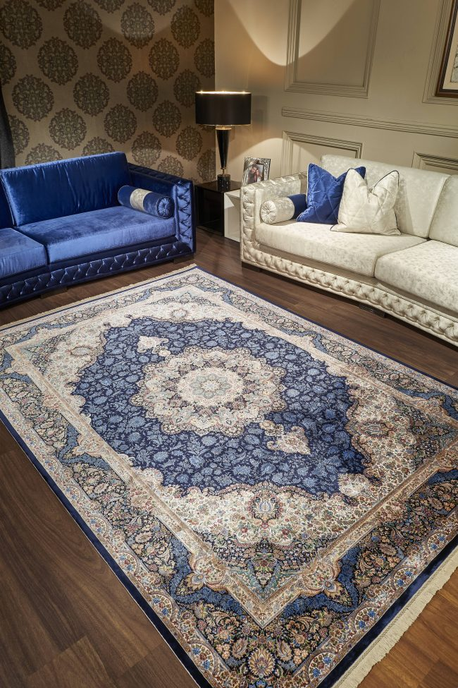 """""""Woven 120"""" – A silky touch by Pierre Cardin Carpet"""