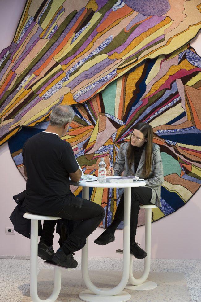 Stand: CC-tapis , Dekorativer Wohnen, Pure Editions, Halle 3.2