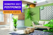 DOMOTEX postpones trade show from January to 20 – 22 May 2021 and develops digital presentation formats