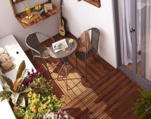 Küçük balkonlar keyifli alanlara dönüşüyor