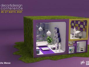 Geleceğin tasarım ve mimarlık fikirleri Decor&Design Conference'da ele alınacak